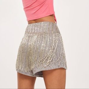 Top shop sold out sequin shorts !